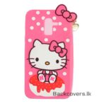 Samsung J8 2018 Prime Hello Kitty Back cover