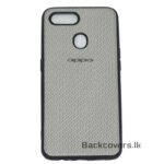 Oppo A5 S Rexine Back cover
