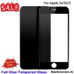 iPhone 5G / 5 G / 5S / 5 S / 5 5D Tempered Glass / Screen Protector – Black