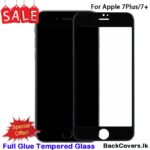 iPhone 7Plus / 7 Plus / 8Plus / 8 Plus / 7+ / 8+ 5D Tempered Glass / Screen Protector – Black