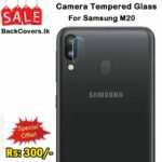 Samsung M20 / M 20 Camera Tempered Glass