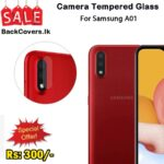 Samsung A01 / A 01 Camera Tempered Glass