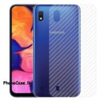 Samsung A10 / A 10 Back Sticker / Carbon Fiber Screen Protector