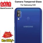 Samsung A30 / A 30 Camera Tempered Glass