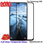 Samsung A40 / A 40 / M01 / M 01 / A01 / A 01 5D Tempered Glass / Screen Protector