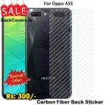 Oppo A5S / A 5S / A5 S Back Sticker / Carbon Fiber Screen Protector