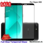Oppo A83 / A 83 5D Tempered Glass / Screen Protector