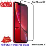 iPhone XR / X R 5D Tempered Glass / Screen Protector