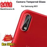 Samsung M01 / M 01 Camera Tempered Glass