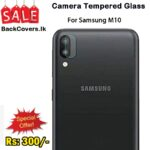 Samsung M10 / M 10 Camera Tempered Glass
