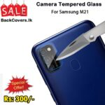 Samsung M21 / M 21 Camera Tempered Glass