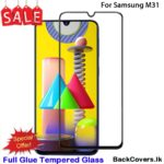 Samsung M31/ M 31 5D Tempered Glass / Screen Protector