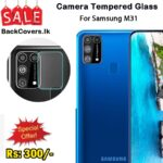 Samsung M31 / M 31 Camera Tempered Glass