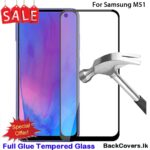 Samsung M51/ M 51 5D Tempered Glass / Screen Protector