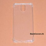 Nokia 3.1 Transparent Back cover
