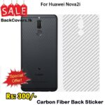Huawei Nova 2i / Nova 2i Back Sticker / Carbon Fiber Screen Protector