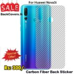 Huawei Nova 3i / Nova 3i Back Sticker / Carbon Fiber Screen Protector