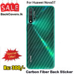 Huawei Nova 5T / Nova 5T Back Sticker / Carbon Fiber Screen Protector