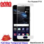 Huawei P10 / P 10 / P10 5D Tempered Glass / Screen Protector – White