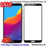 Huawei Y7 2018 / Y7 18 / Y7Prime 18 / Y7 Prime 18 / Y 7Prime 18 5D Tempered Glass / Screen Protector