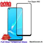 Oppo A92 / A 92 5D Tempered Glass / Screen Protector