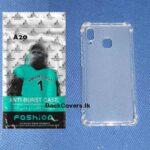 Samsung A20 / A 20 ANTI-BURST Case / High Quality Transparent Back Cover / Clear Phone Case / TP Phone Cover