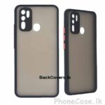 Vivo Y30 / Y 30 Gingle Camera Protector Phone Cover / Back Cover / Phone Case – Black