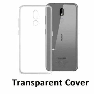 Transparent Back cover