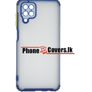 Samsung A12 / A 12 Hard Mat Camera Protection Back Cover / Phone Case -Blue