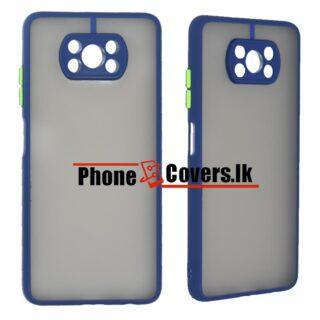 Poco X3 Pro / Poco X 3 Pro Gingle Camera Protector Back Cover -Blue