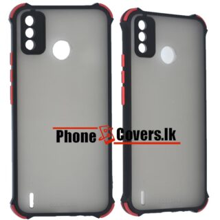 Tecno Spark 6 GO Gingle Camera Protector Back Cover -Black